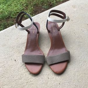 Cole Haan Ankle Strap Sandals, Size 7.5